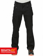 Regatta Mens Cullman Pants, Black, Short