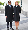 Men's Bond Overcoat Navy