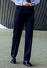 Delta Single Pleat Trouser Navy