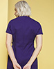 D Ring Tunic, Violet