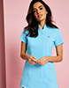 One Button Tunic, Crystal Blue